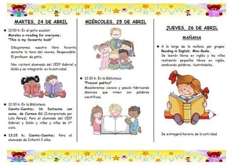 preguntas importantes acerca del bullying ejemplo de folleto de actividades de la biblioteca semana