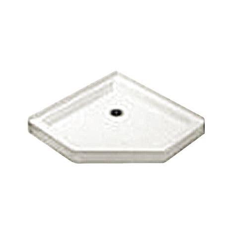 fiat 36 in x 36 in cascade shower floor in white 36wlcwh