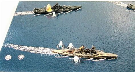 usn battleship vs ijn battleship the pacific 1942â 44 duel books gunfight guadalcanal the sinking of the kirishima