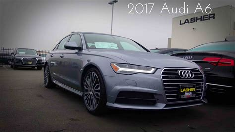 Audi A6s Line by 2017 Audi A6 S Line 2 0 L Turbocharged 4 Cylinder Review