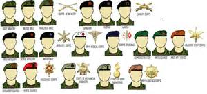army beret colors nationstates dispatch florysian new model army