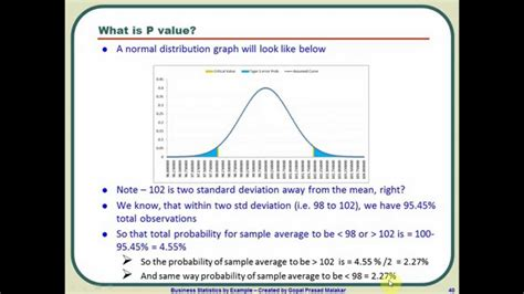 how to calculate p value for 1 and 2 cases using