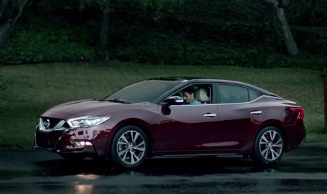 new nissan maxima all new 2016 nissan maxima appears in super bowl ad