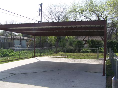 Carport Metall by Metal Two Car Carport Central San Antonio