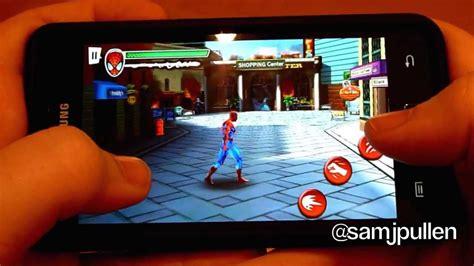 download spider man ultimate power game mod android android game review ultimate spider man total mayhem