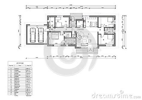 Pianta Casa Unifamiliare by Pianta Della Casa Unifamiliare Illustrazione Di Stock