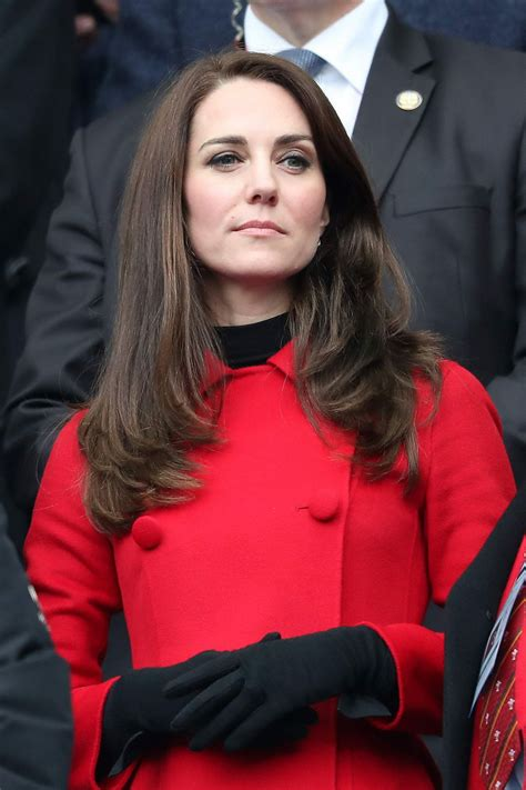 kate middleton kate middleton at wales vs france match in france 03 18