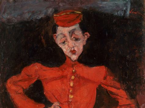 soutines portraits cooks waiters last chance breakfast soutine s portraits cooks waiters and bellboys the courtauld