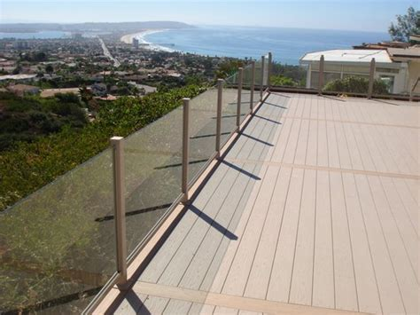 glass deck railing systems cost 187 design and ideas