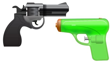 emoji pistol the guardian praises apple for guarding users from pistol