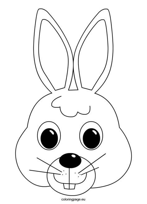 bunny mask coloring pages bunny mask tvořen 237 čko pinterest bunny mask bunny