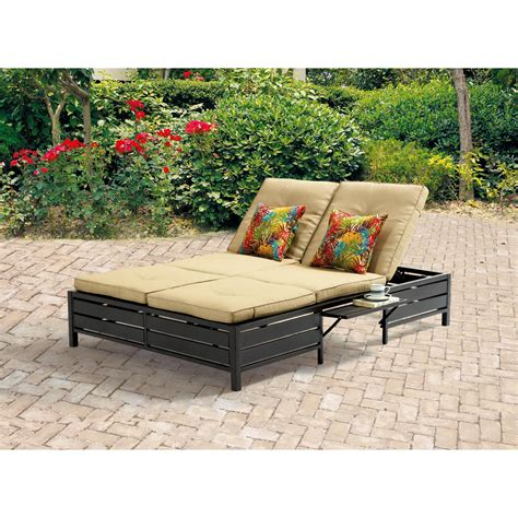 double chaise lounge patio patio double chaise lounge mariaalcocer com