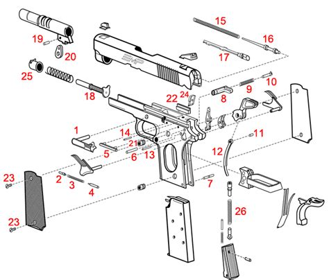 1911 parts diagram mat airsoft m4 diagram airsoft free engine image for user