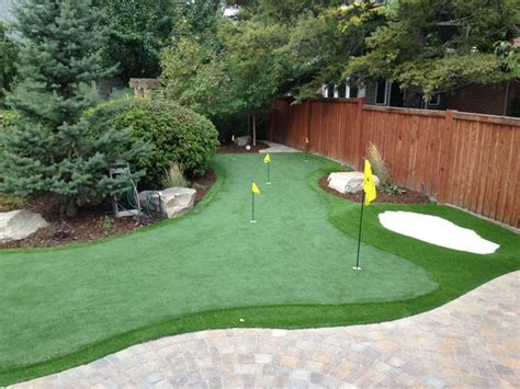 backyard putting greens salt lake city by ridgeline