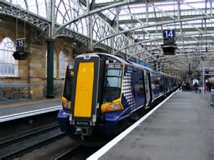 class  train  glasgow central  thomas nugent