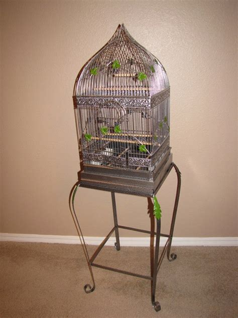 antique style bird cage with stand wedding pinterest