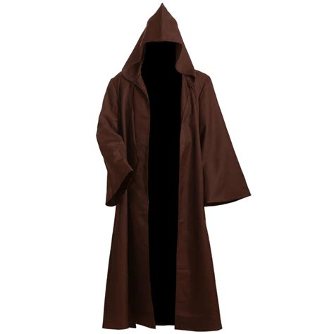 mens jedi robe aliexpress buy wars robe brown cloak obi