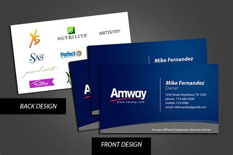 amway business card template amway business cards by grndvlzboy on deviantart