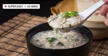 instant pot congee instant pot congee jook with minced beef recipe