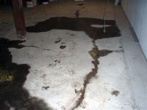 Basement Floor Crack Repair   Repairing Leaking Cracks In