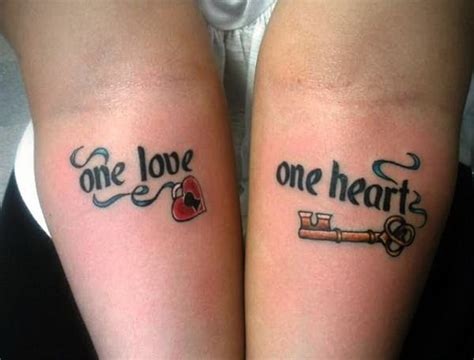 20 Cute Boyfriend And Girlfriend Tattoos Sheideas Boyfriend And Matching Tattoos Hearts