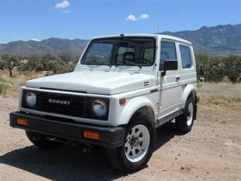 automobile air conditioning service 1992 suzuki samurai windshield wipe control suzuki samurai suv 1988 white for sale js4jc51v3j4143048 1988 suzuki samurai hardtop ac low