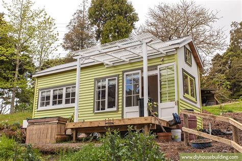 how to build a tiny house building our tiny home named lucy