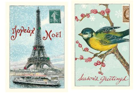 vintage style cards with glitter the womens