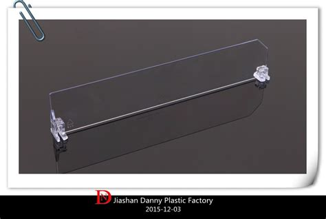 Acrylic Shelf Dividers by Adjustable Clear Acrylic Shelf Divider For Sale Dn 02211