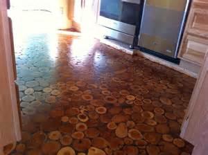 cordwood flooring by in arizona cordwood