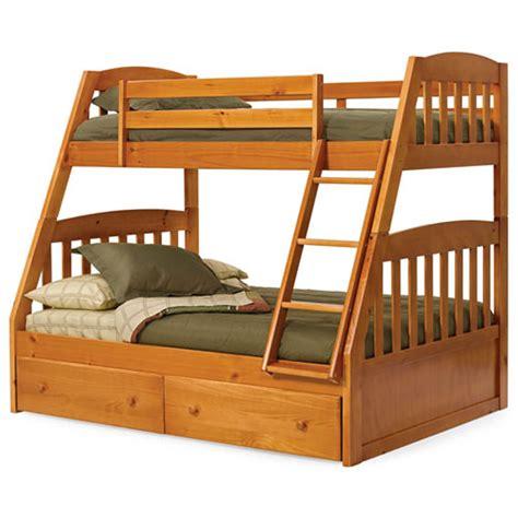 Tempat Tidur Anak Atas Bawah tempat tidur tingkat kamar anak seri bahan kayu jati