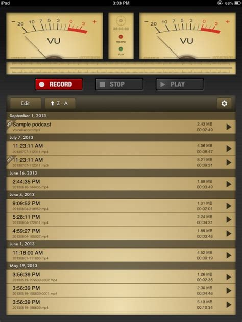 Records Pro App Review Voice Record Pro