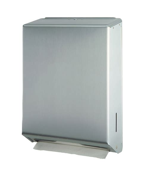 Folded Paper Towel Dispenser - cleaning taking out folded paper towels from a