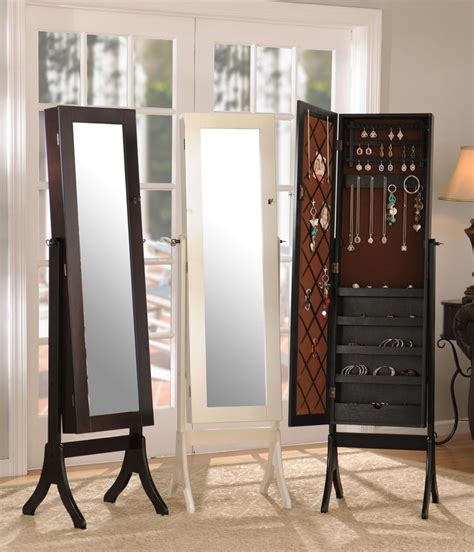 standing mirror jewelry armoire kirklands every woman needs an armoire kirkland s has a ton of