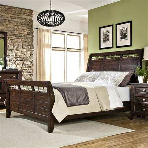 south coast bedroom furniture by south coast sleigh bedroom set by furniture