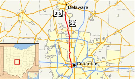show me a map of ohio ohio state route 315