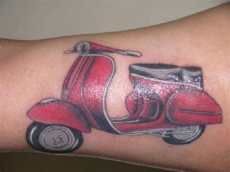 simple vespa tattoo 40 best vespa scooter tattoos
