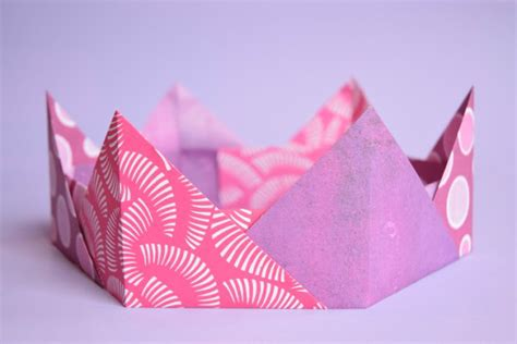 Origami Crown - origami crowns easy paper craft for what can we do