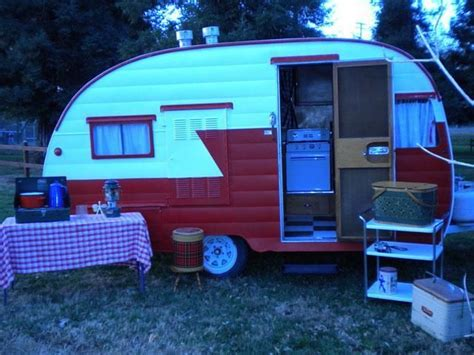 Retro Teardrop Camper For Sale by Vintage Shasta Travel Trailer Teardrop Campers And