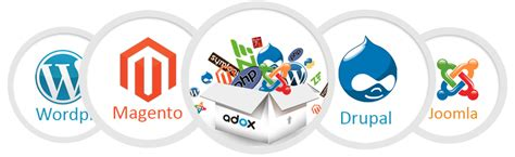 banner design application software web application cms development custom web
