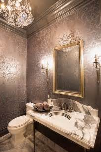 Wallpaper For Small Powder Room 20 Gorgeous Wallpaper Ideas For Your Powder Room