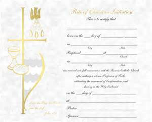 rcia parchment rcia certificate