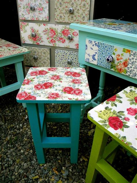 Wrapping Paper Decoupage Furniture - 78 images about paint and decoupage furniture on