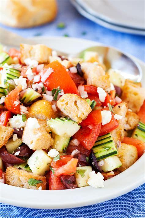 italian bread salad recipe ina garten ina garten panzanella panzanella pretty this classic