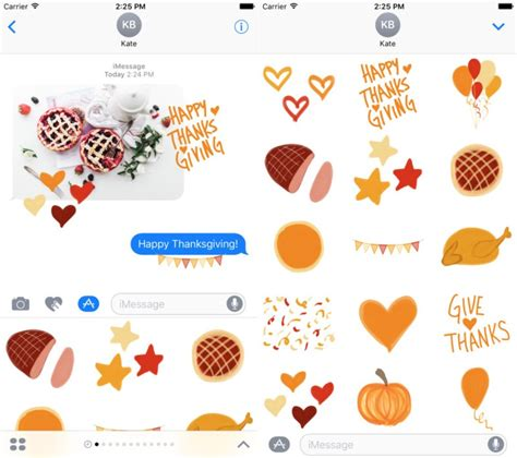 Imessage Stickers best imessage stickers for thanksgiving imore