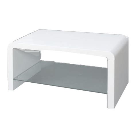 a35 white gloss coffee table