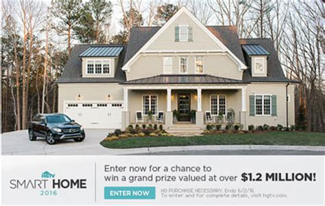 Raleigh Sweepstakes - hgtv smart home sweepstakes 2016 sun sweeps
