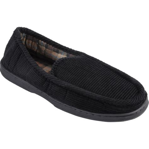 House Shoes Walmart by Daxx S Lined Corduroy Moccasin Slipper Shoes Walmart