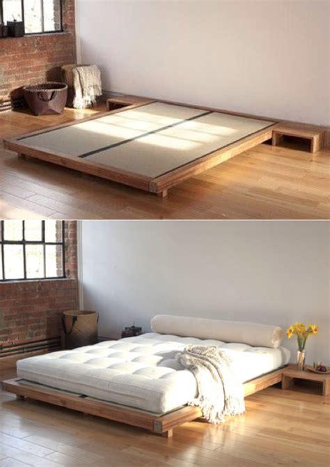 tatami bed ideas  pinterest futon bedroom japanese minimalism  scandinavian bed