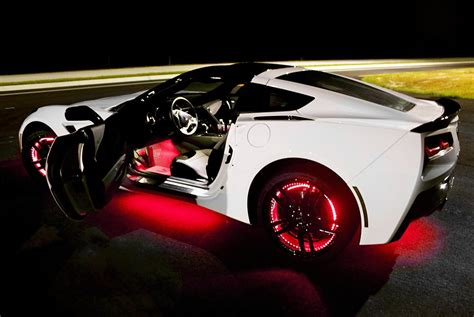 car with lights led underbody lights rock lights wireless
